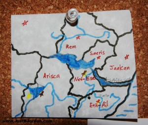 To Ashes We Run Map Sketch