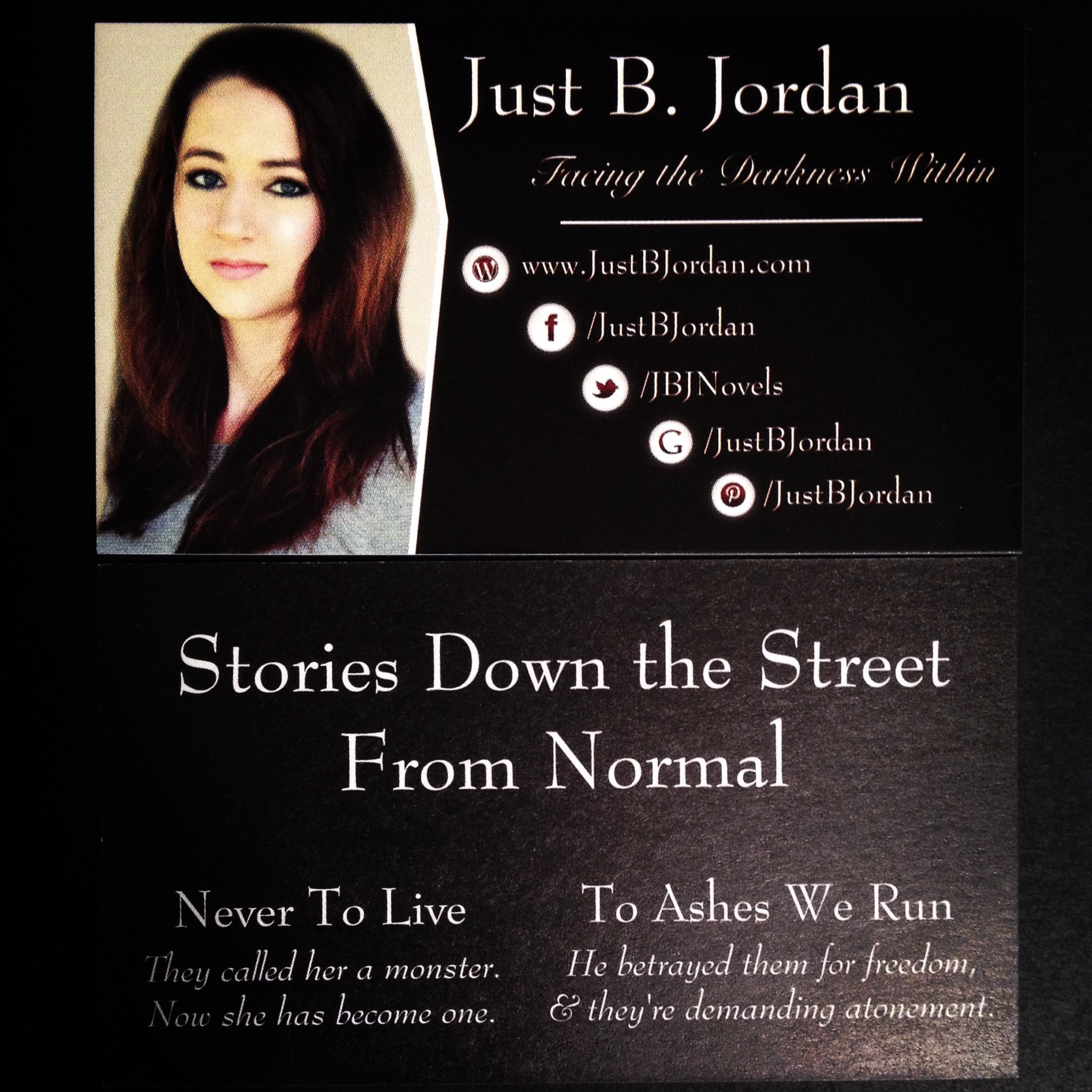 author business cards •
